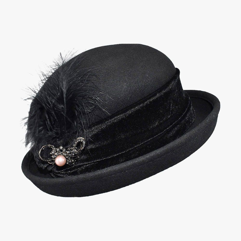 Royal Corduroy Bowler Hat 1