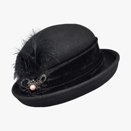 Royal Wool Bowler Hat