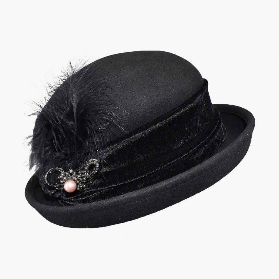 Royal Corduroy Bowler Hat 1