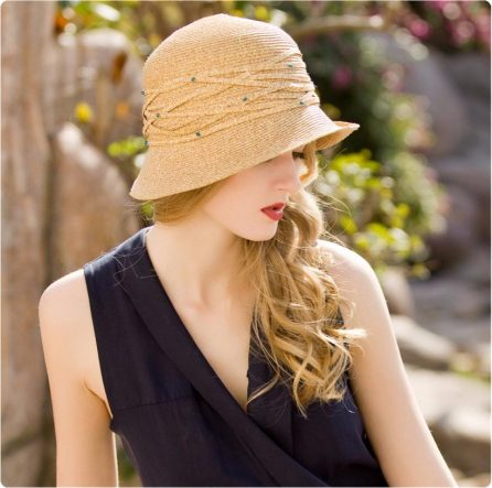 Summer Flapper Cloche Hat