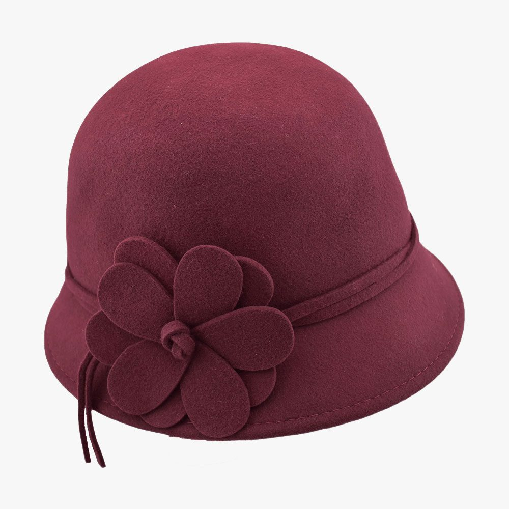 Sweet Lilac Cloche Hat 1