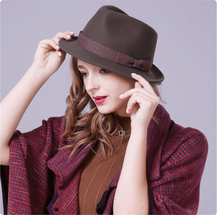 Double Bright Trilby