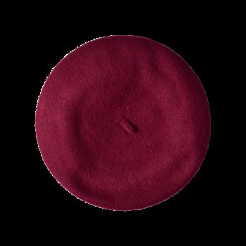 Vintage wine red Beret 1