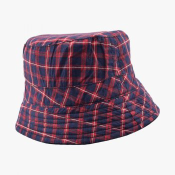 Askew Plaid Bucket Hat