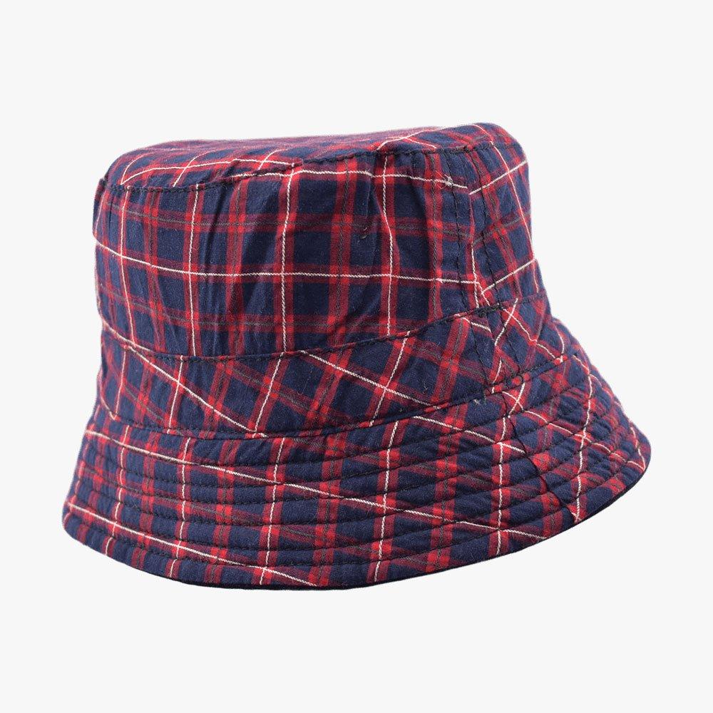 Askew Plaid Bucket Hat 1