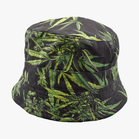 Leave In Dark Bucket Hat