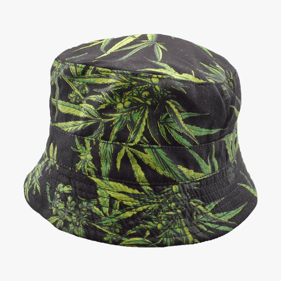 Leave In Dark Bucket Hat
