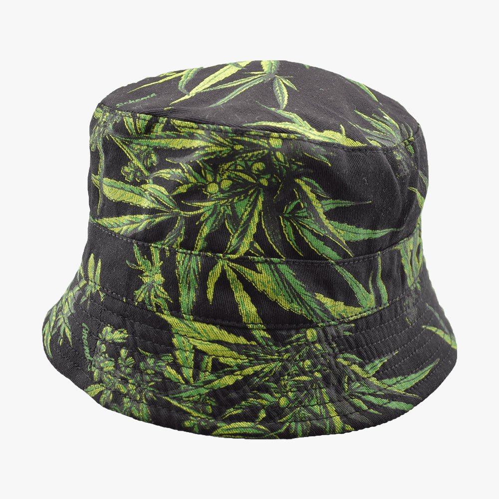 Leave In Dark Bucket Hat 1