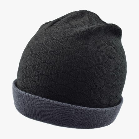 Black Knitting Hexa