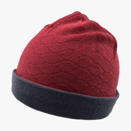 Red Knitting Hexa