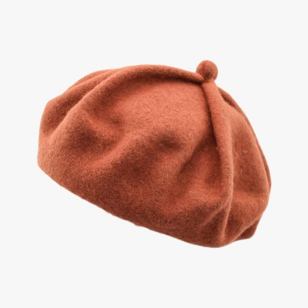 Cute Pumpkin Beret – Orange