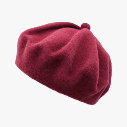 Cute Pumpkin Beret – Red