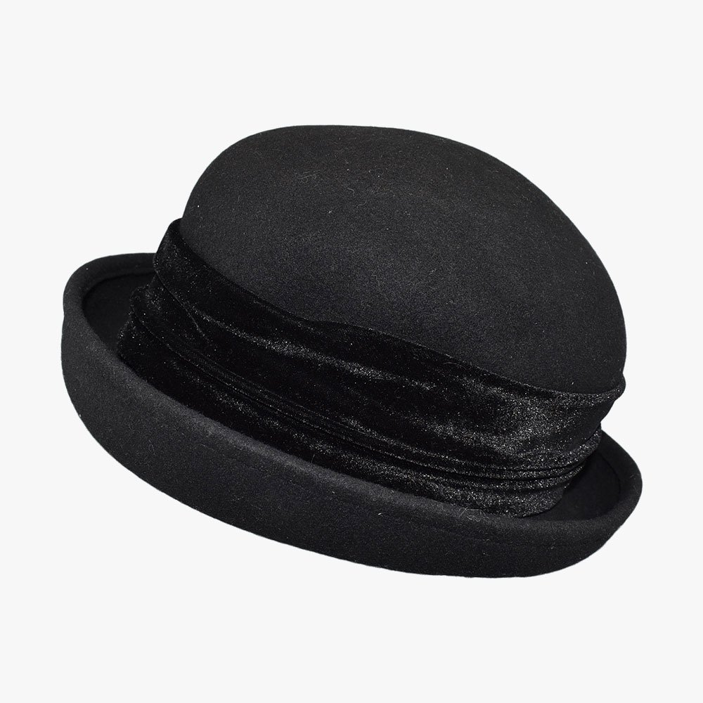 Royal Corduroy Bowler Hat 2