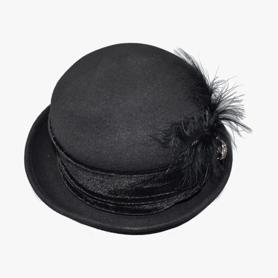 Royal Corduroy Bowler Hat