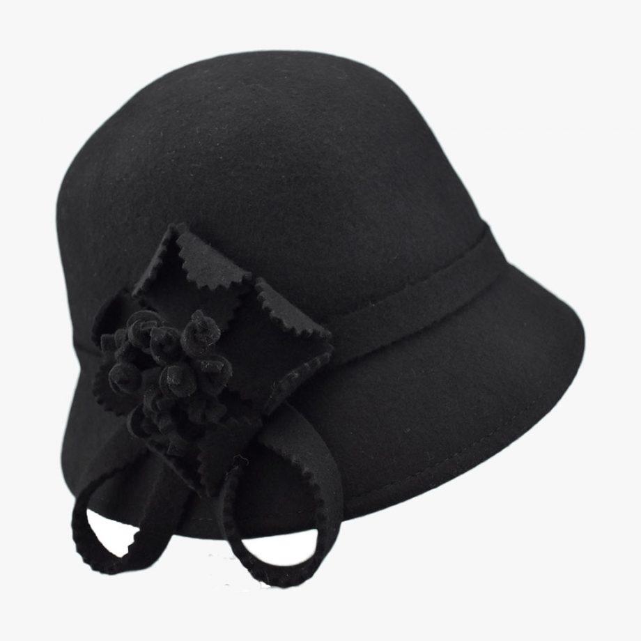 Balmy Violet Cloche Hat
