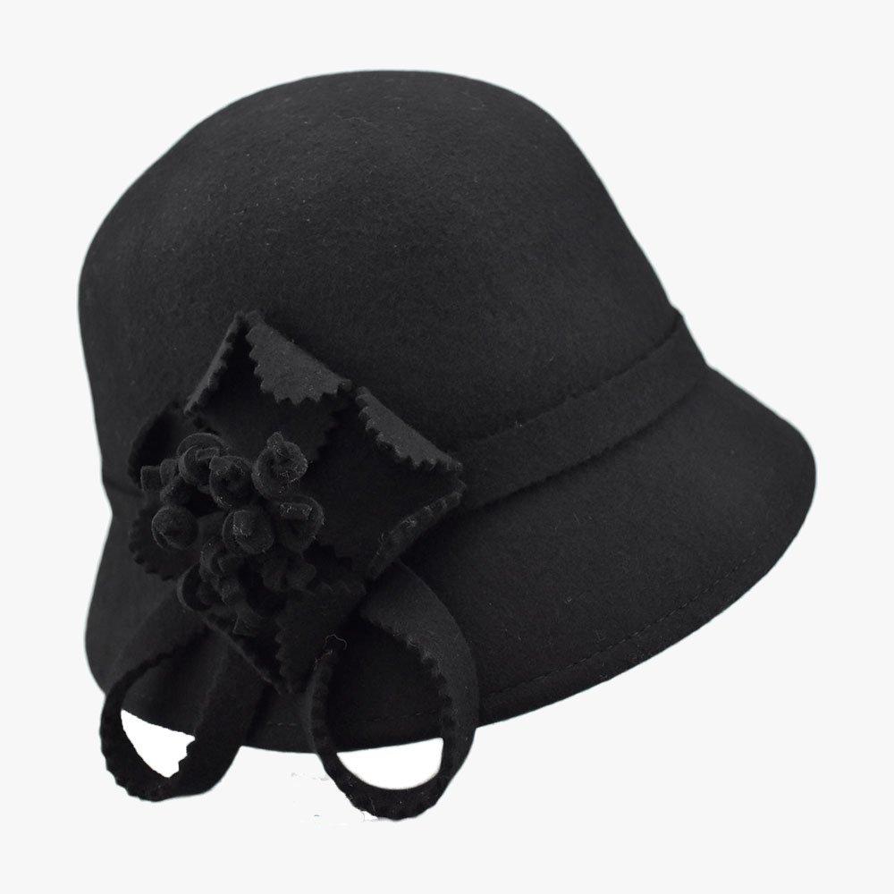 Balmy Violet Cloche Hat 1