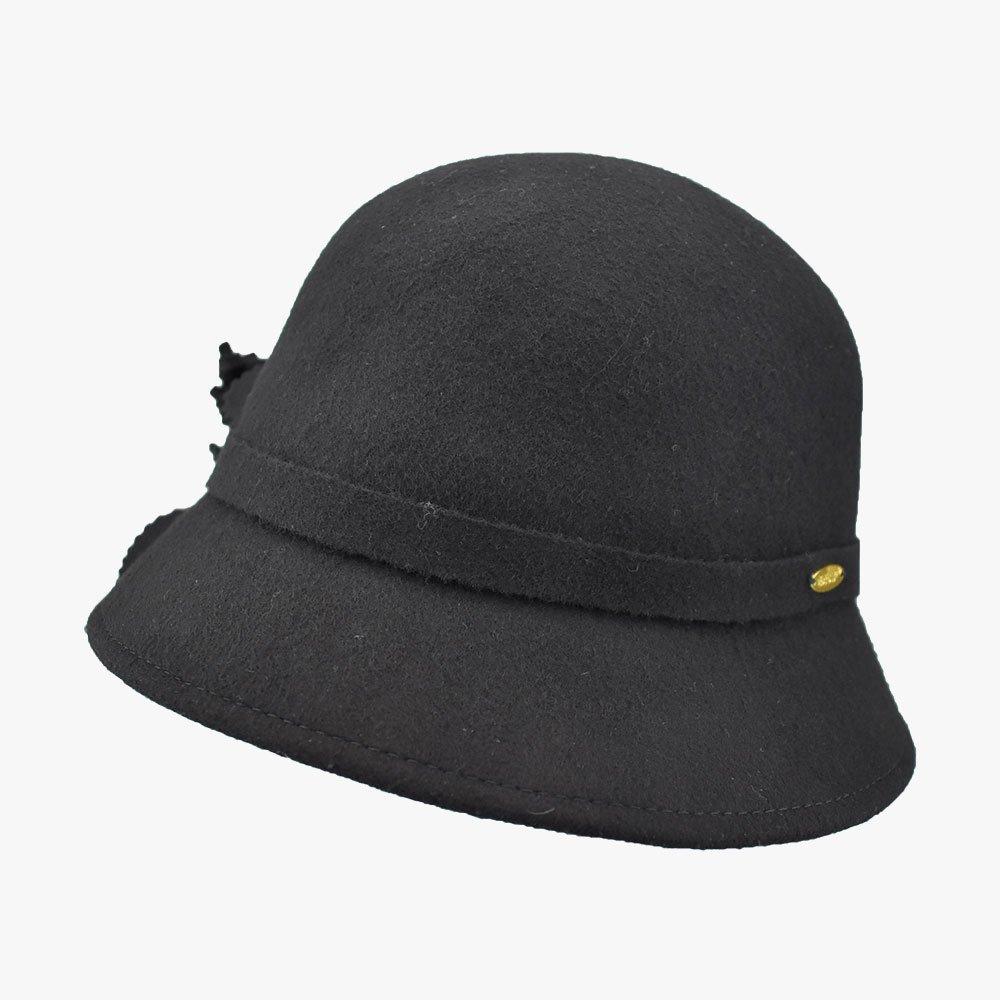 Balmy Violet Cloche Hat 2