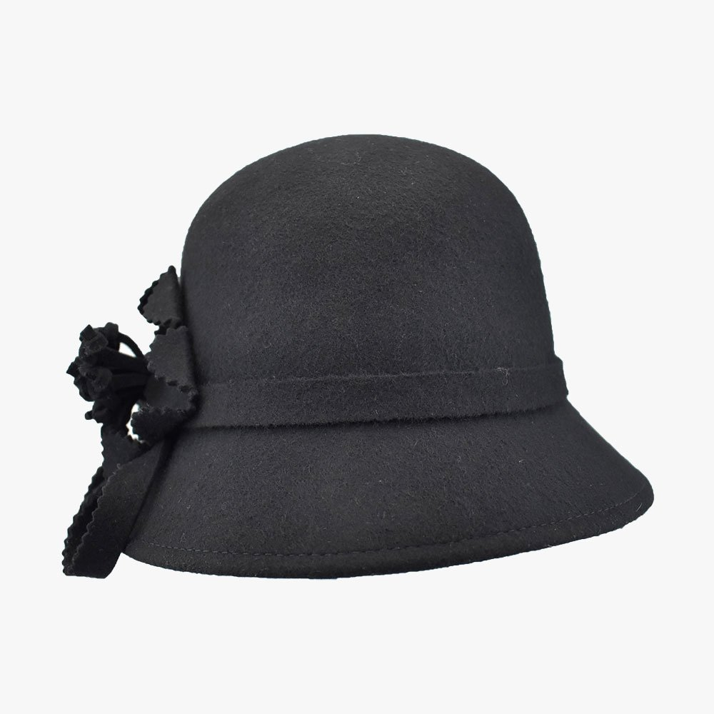 Balmy Violet Cloche Hat 3