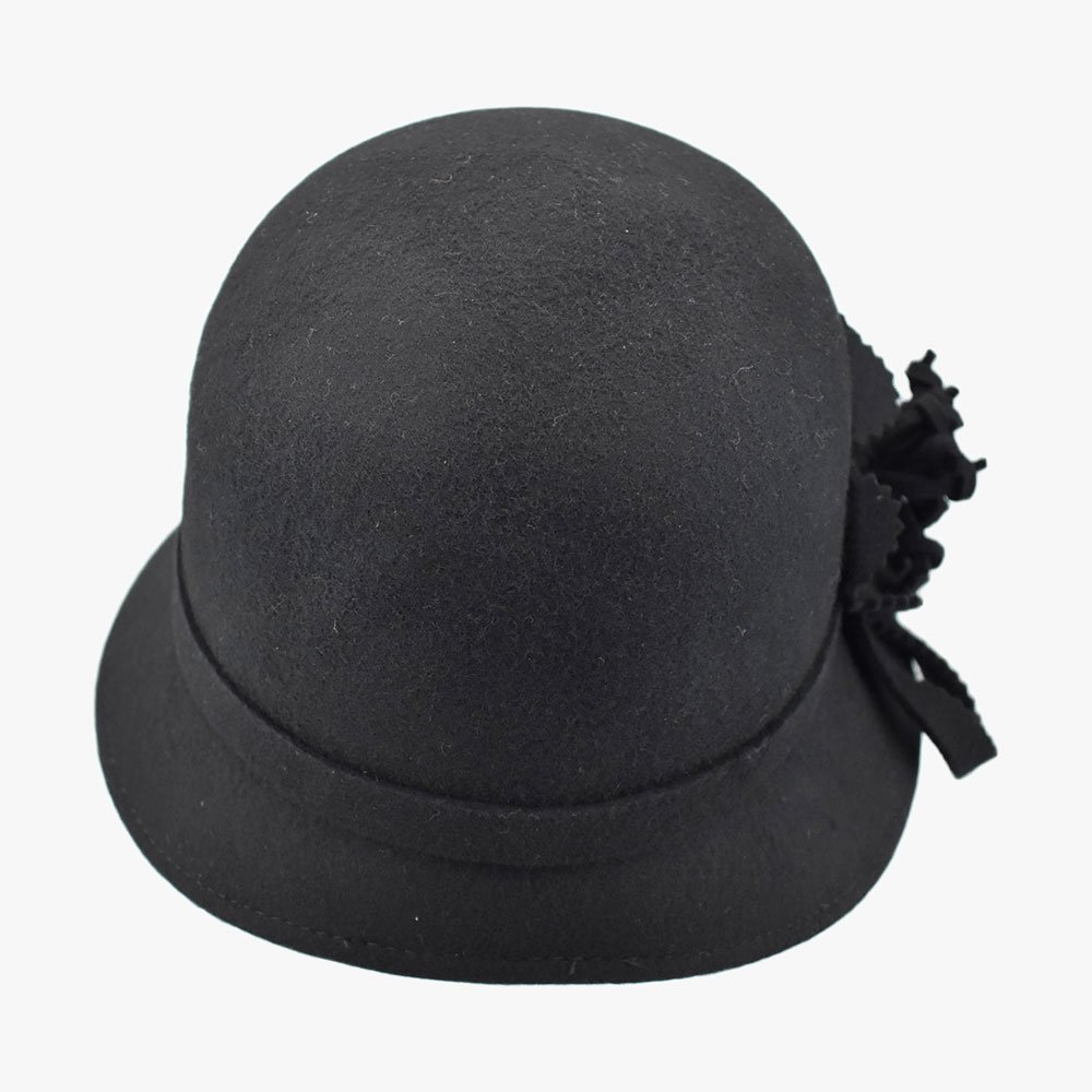 Balmy Violet Cloche Hat 4