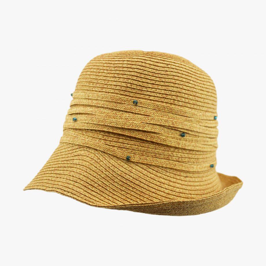 Summer Flapper Cloche Hat