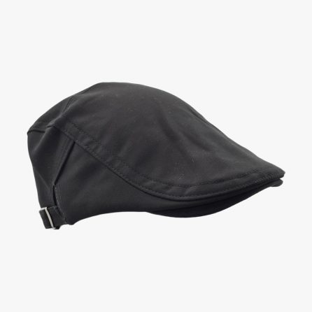 Pure Newsboy Cap – Black