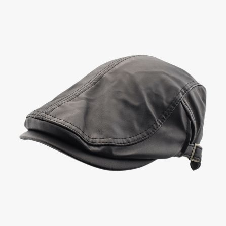 Slippy Flat Cap – Black