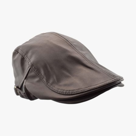Slippy Flat Cap – Brown
