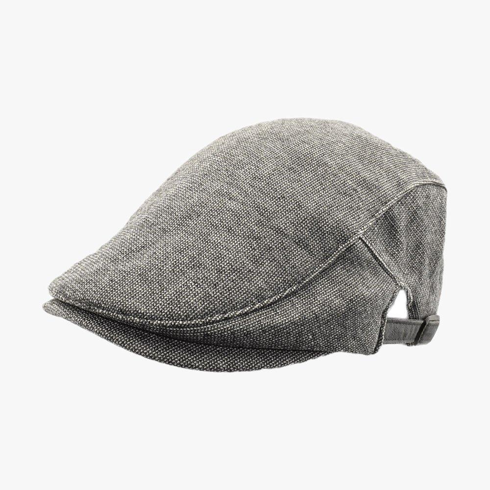 Wavy Cap Flat Cap 1