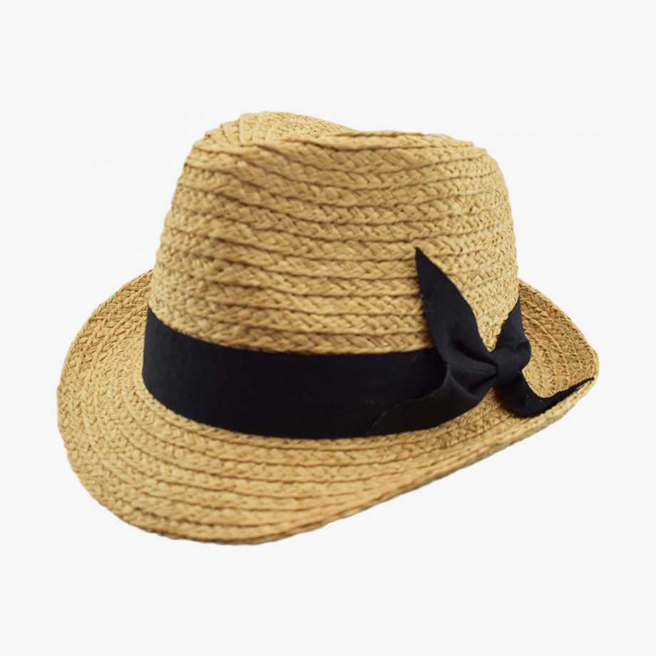 Bardian Bow Panama Hat
