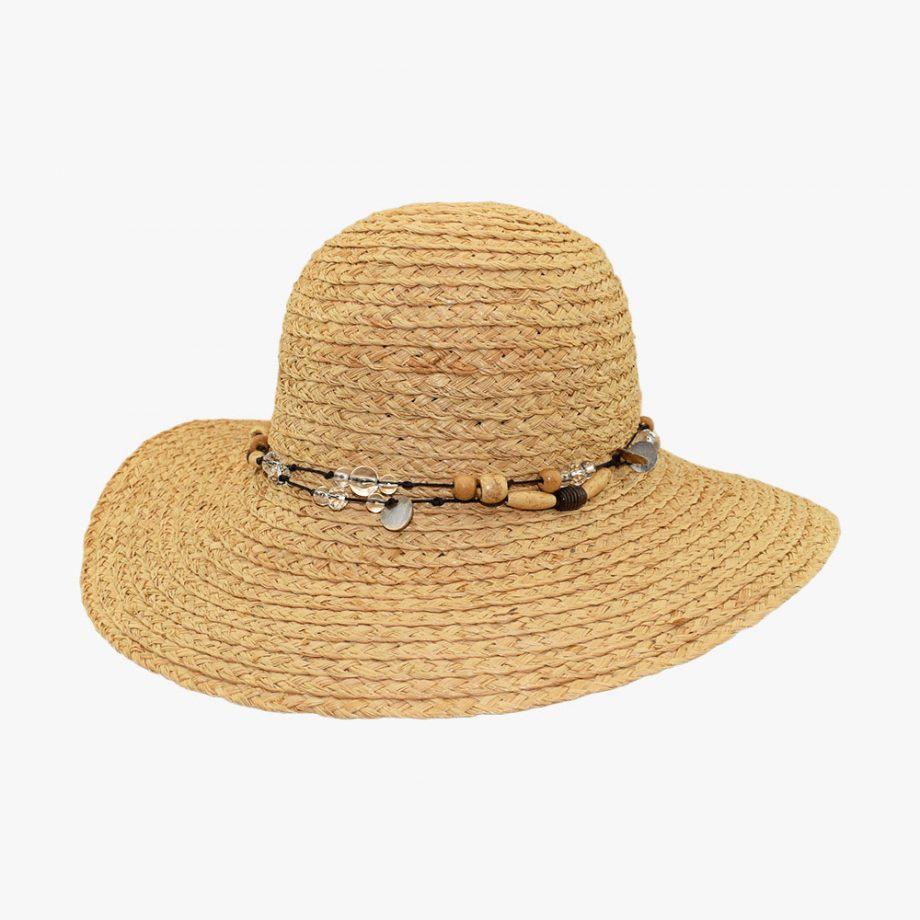 Summer Bead Sun Hat