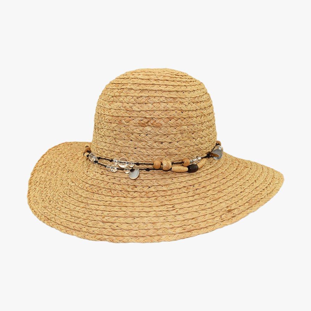 Summer Bead Sun Hat 1