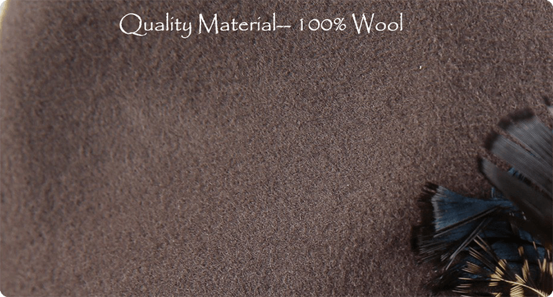 High-quality material - 100% wool