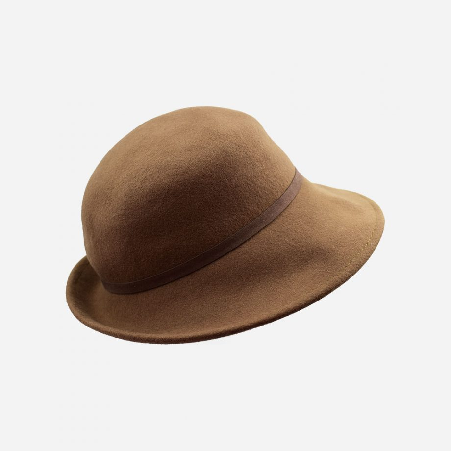 The Duckbil Hat - Brown