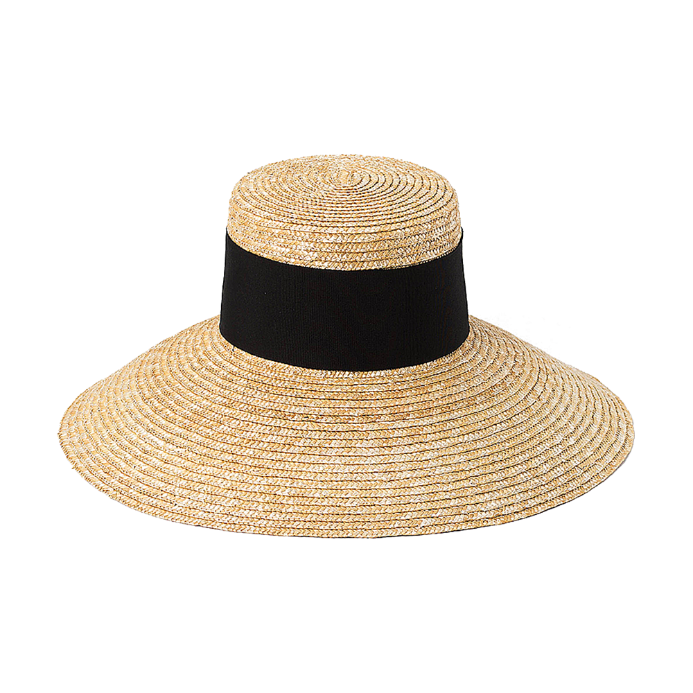 Out Door Straw Bucket Hat