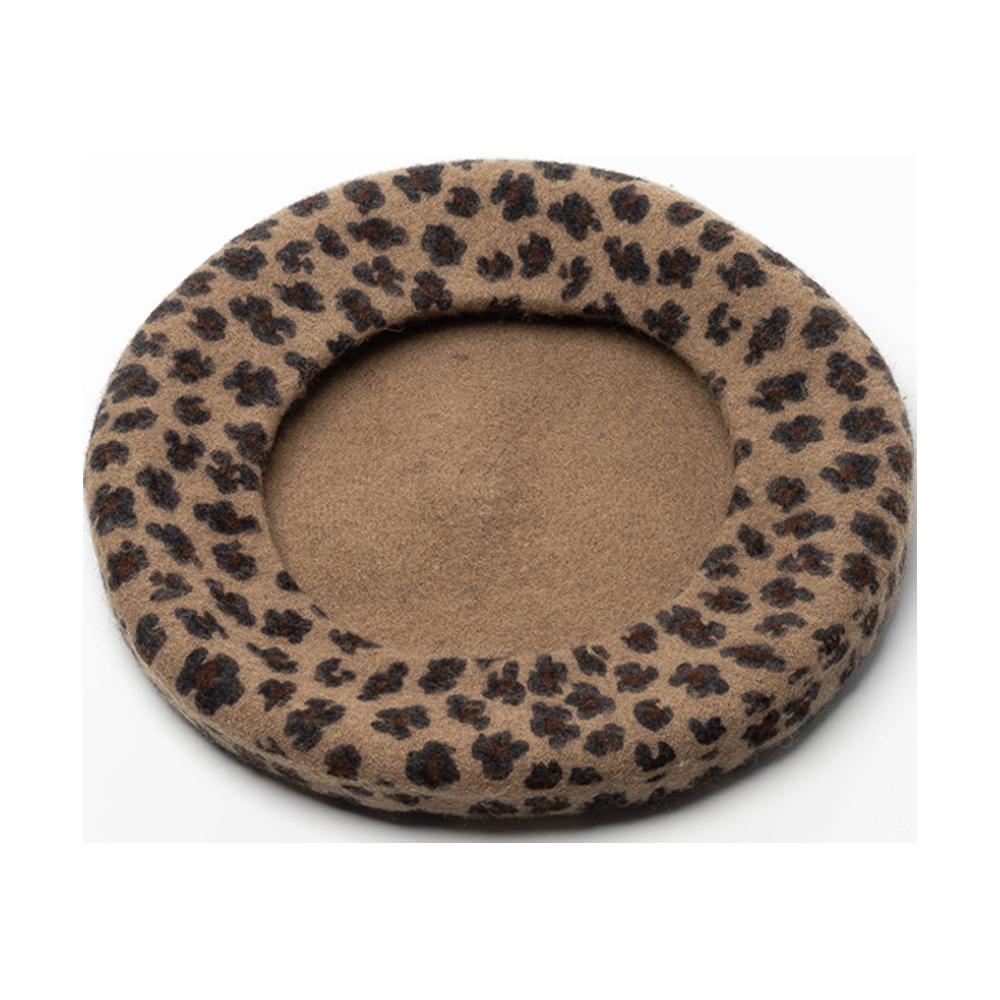The Leopard Beret