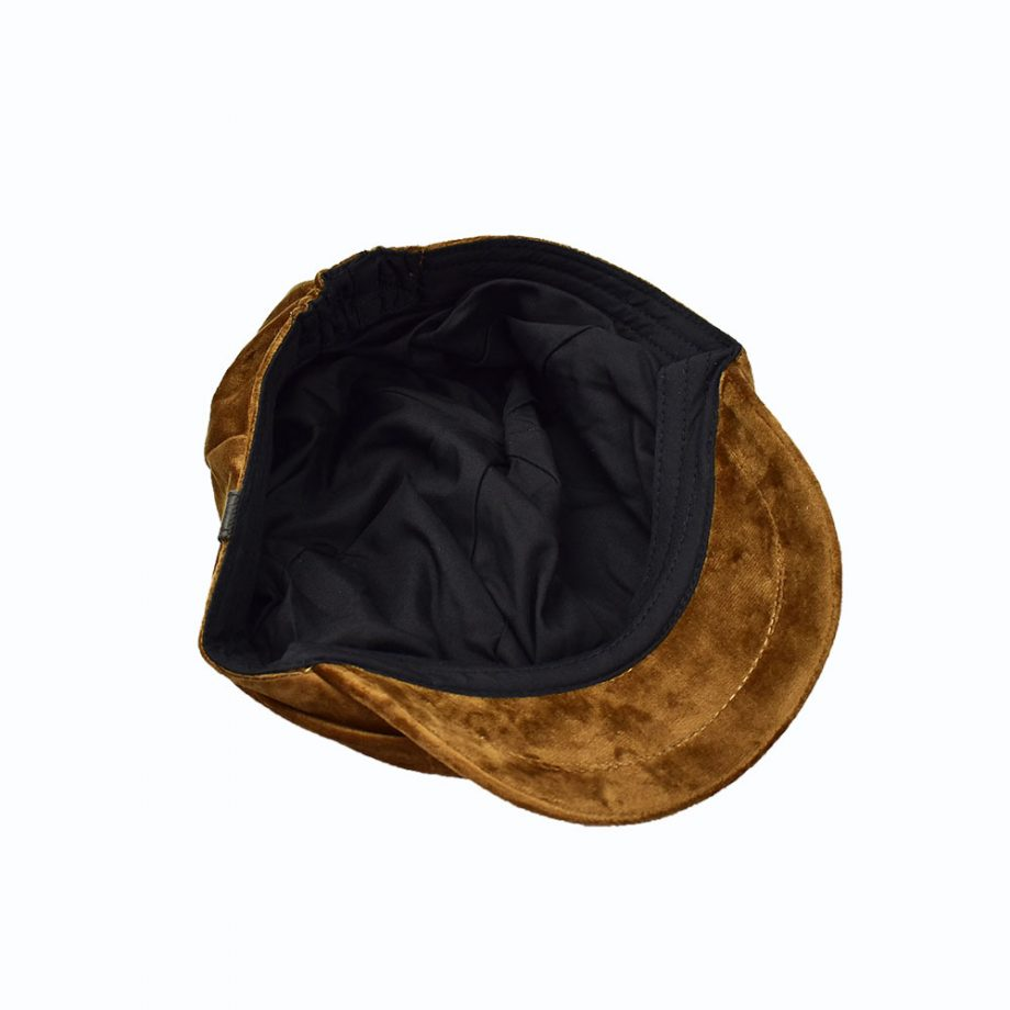 Mr.Lord Coffee Velvet Cap