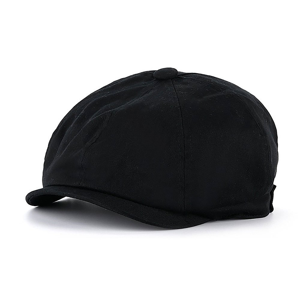 Mr Smith Black Wool Cap
