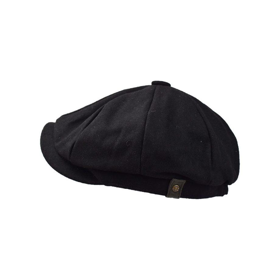 Mr Smith Black Wool Cap