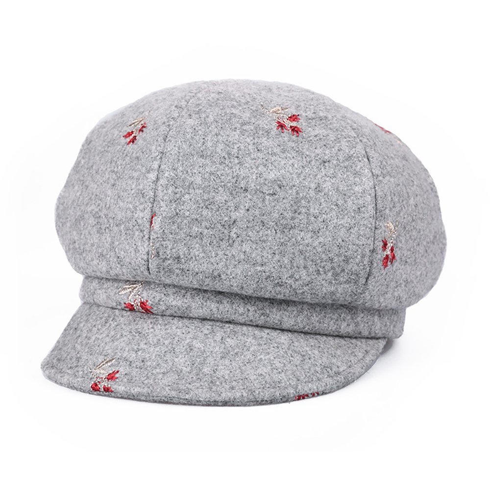 Little Flower Grey Cap