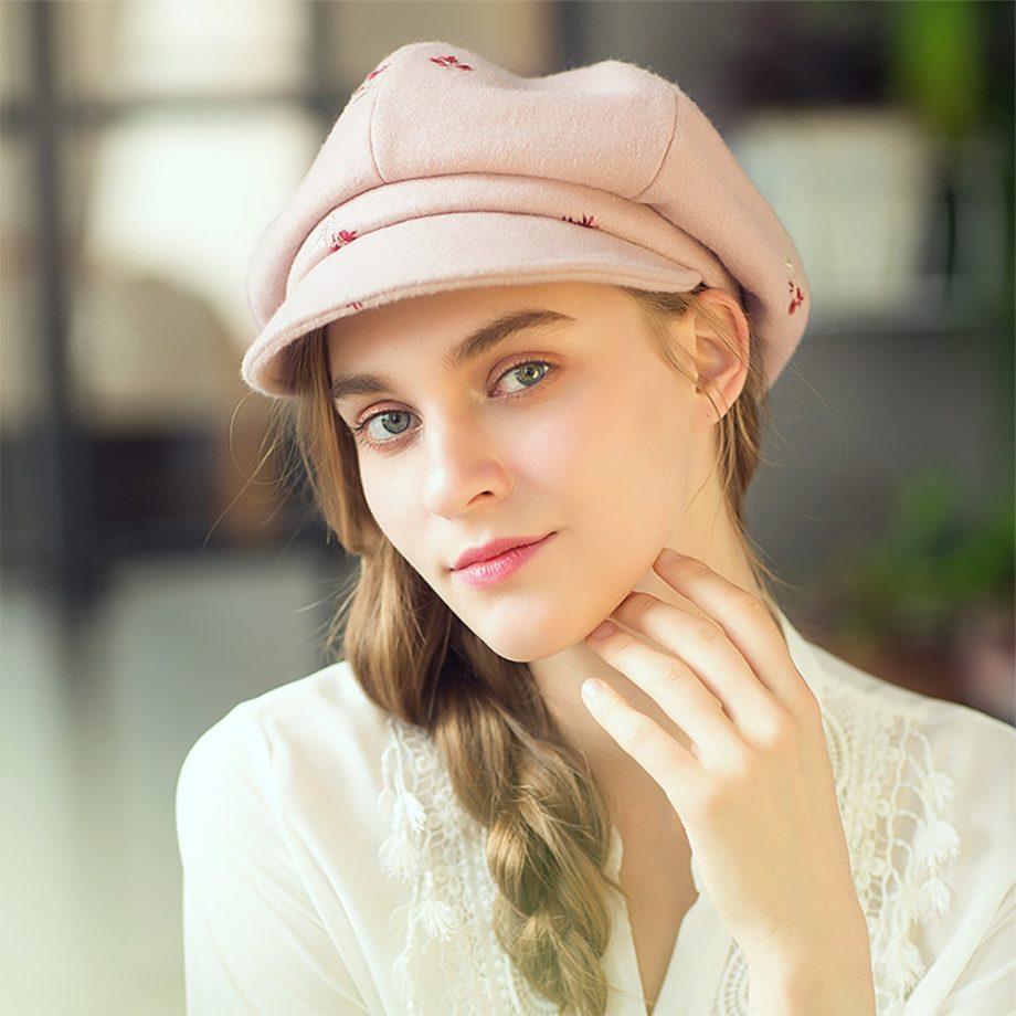 Little Flower Pink Cap